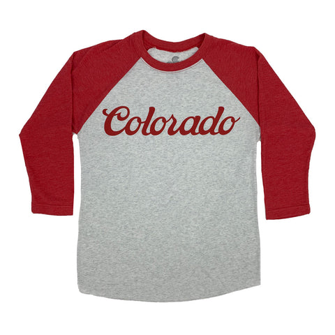 Red Colorado Koolaid Baseball Tee