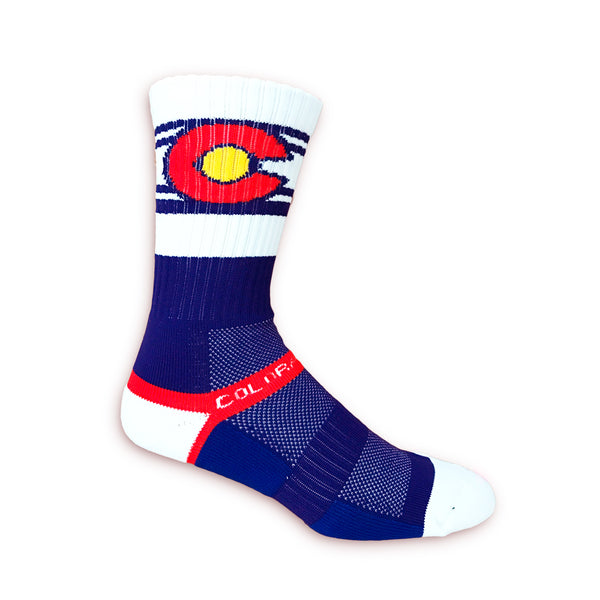 Standard Issue Colorado Flag Socks - Unisex