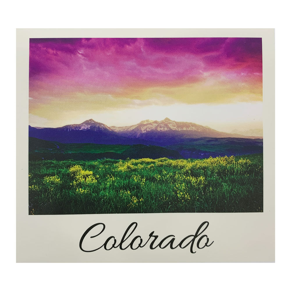 Colorado Telluride Sky Sticker