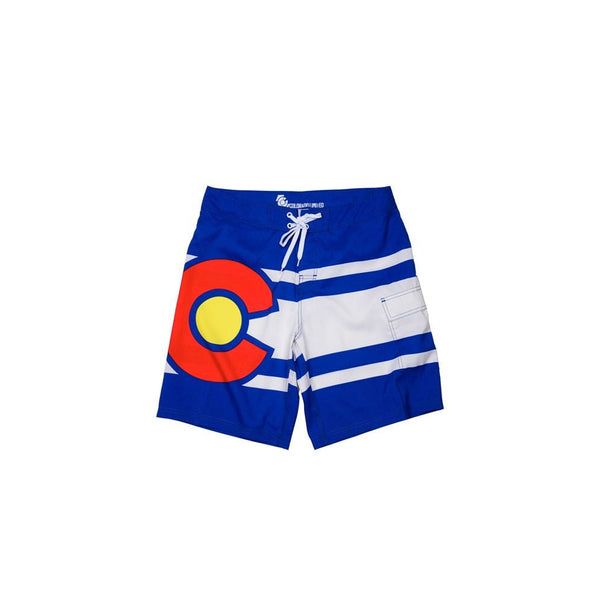 Standard Issue Colorado Flag Board Shorts