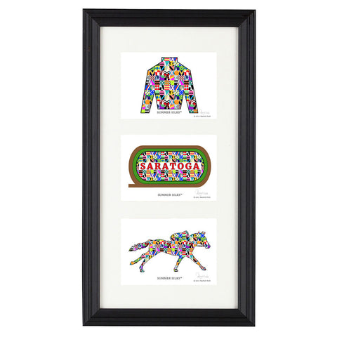 Summer Silks Multi Print Frame