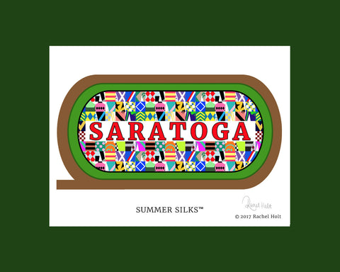 Summer Silks Mat Print