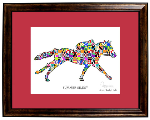 Summer Silks Framed Print
