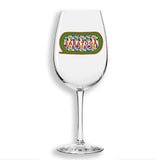 Summer Silks Wine Glass