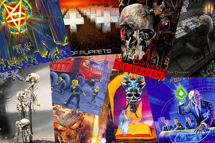 Top 5 Thrash Metal Albums You Should Own