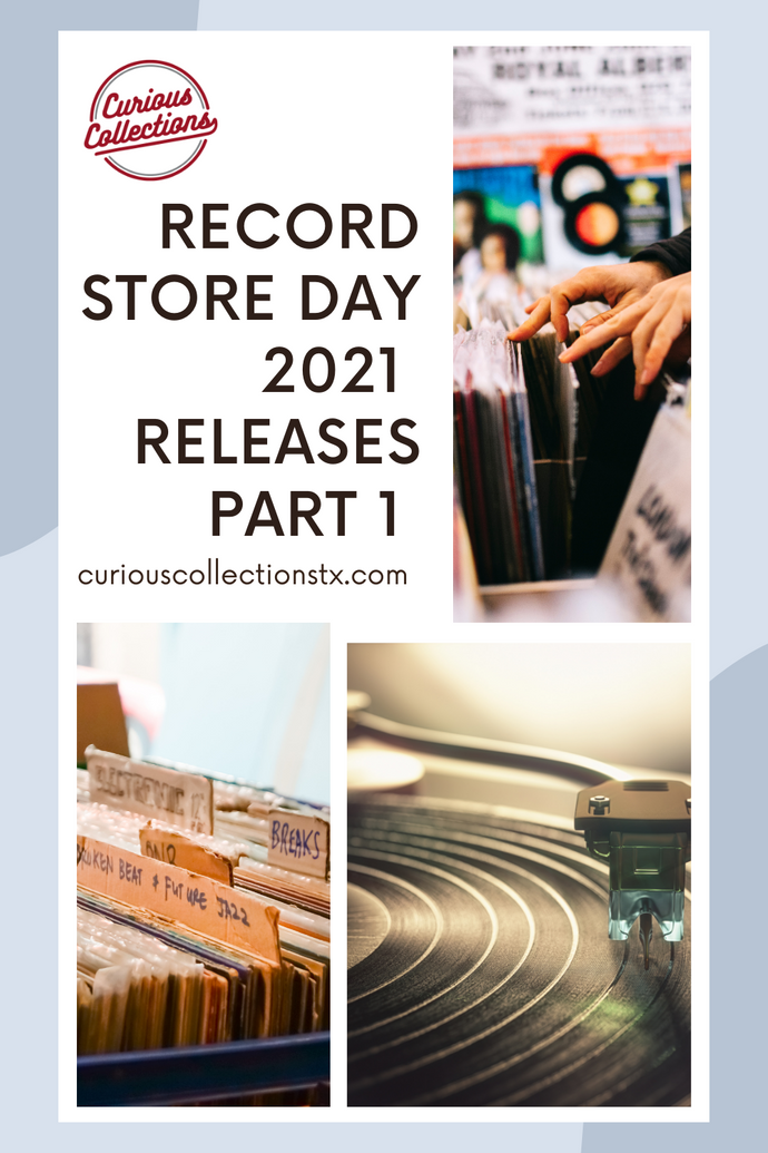 Record Store Day 2021 Releases (Part 1)
