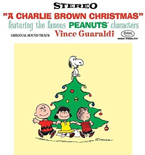 Vince Guaraldi * Charlie Brown Christmas [70th Anniversary Edition - Holographic sleeve + Greene Vinyl]