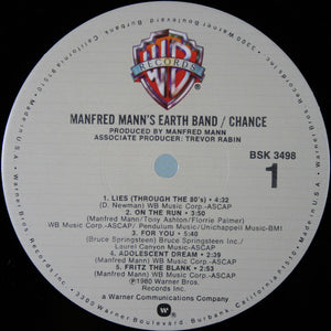 Mannfred Man's Earth Band * Chance