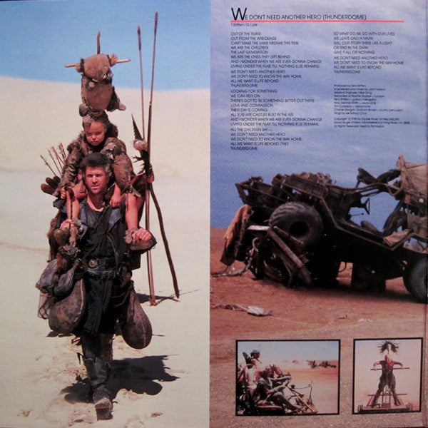 mel gibson is mad max beyond thunderdome original motion picture