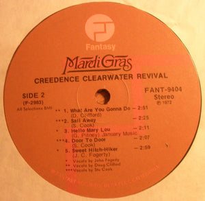 Creedence Clearwater Revival * Mardi Gras