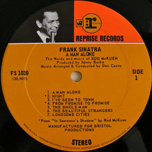 Frank Sinatra * A Man Alone & Other Songs of Rod McKuen