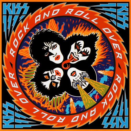 Kiss ‎* Rock And Roll Over
