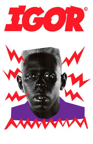 Tyler the Creator * Igor Red/White [Countertop Poster]