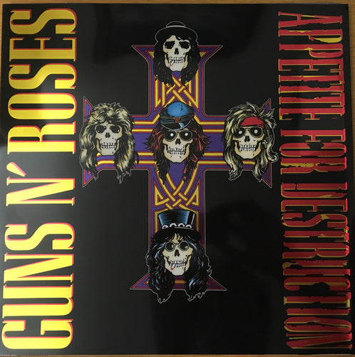 Guns N' Roses * Appetite for Destruction (Remastered) [Limited Edition Red Colored Vinyl]