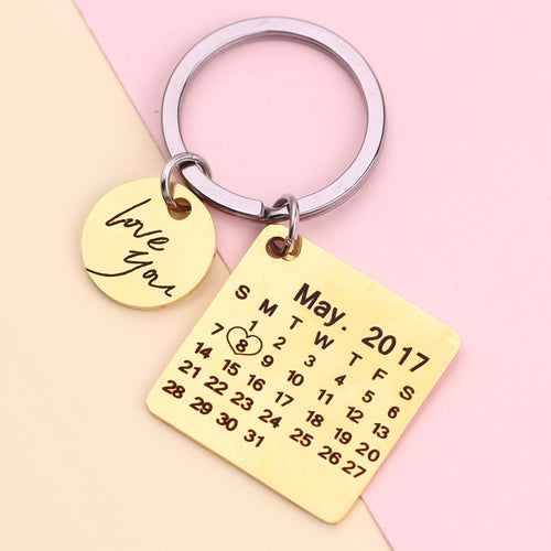 Personalized Moment In Time Keychain