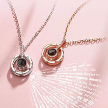 Load image into Gallery viewer, 100 LANGUAGES - I LOVE YOU NECKLACE