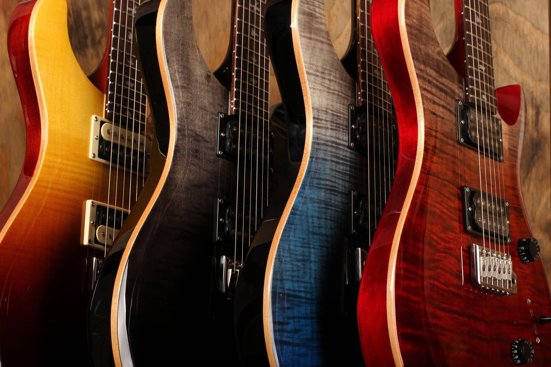 De nieuwste 2020 PRS SE Limited Run: Private Stock Fade finishes!