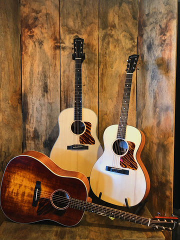 Eastman Guitars Gitaren Acoustic Akoestisch Slope Shoulder Strings