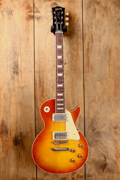 Gibson Custom Shop 1958 Les Paul Standard Reissue Washed Cherry Sunburst
