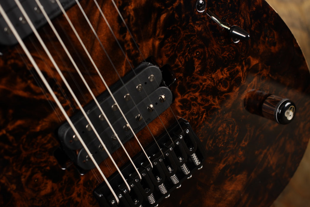 Mayones Duvell 7 Elite Trans Dirty  Brown Gloss