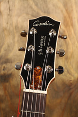 Godin 5th Avenue Kingpin P90 Cognac Burst