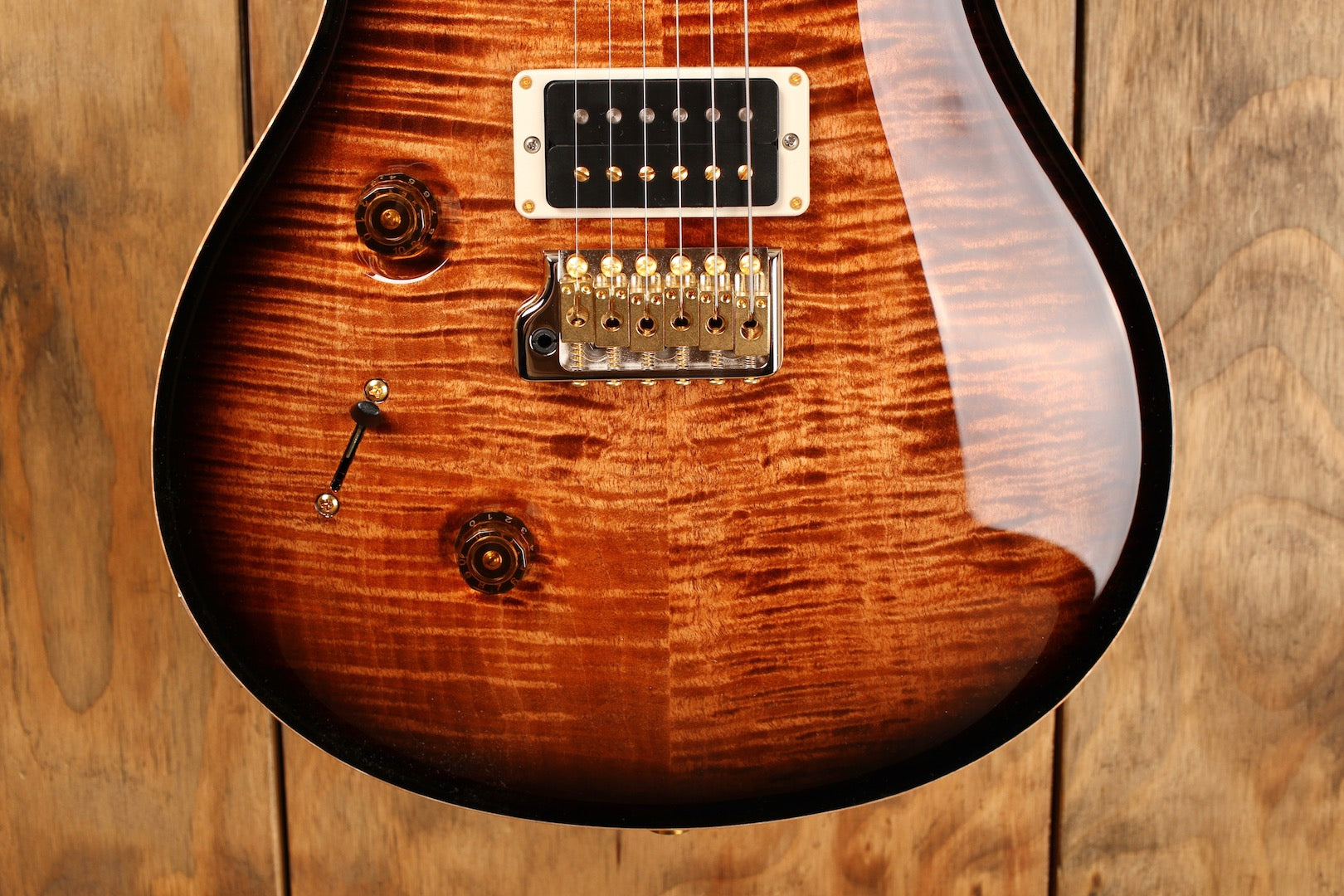 PRS Paul's Guitar Black Gold Wrap Burst