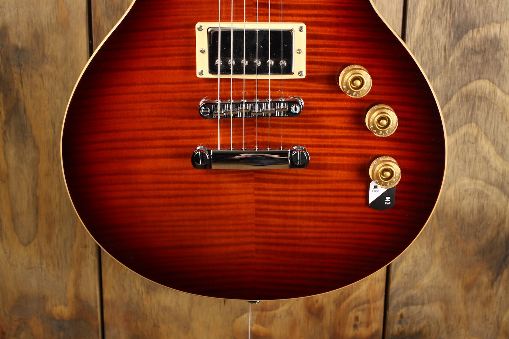 ESP LTD EC-256FM Dark Brown Sunburst