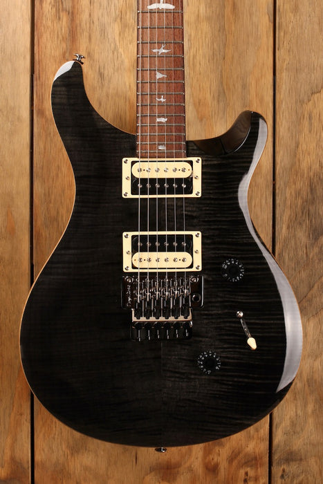 PRS SE Custom 24 Floyd Gray Black