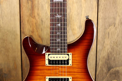 PRS SE Custom 24 Tobacco Sunburst Left Handed