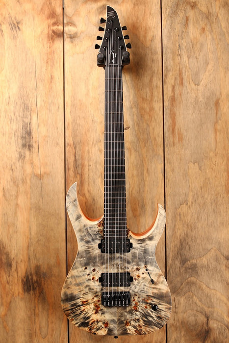 Mayones Duvell Elite 7 Trans Graphite Satin