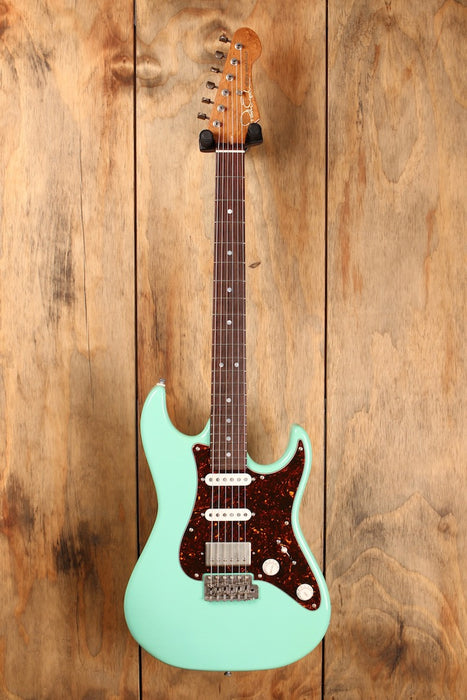 Patrick James Eggle '96' Vintage HSS Surf Green Aged