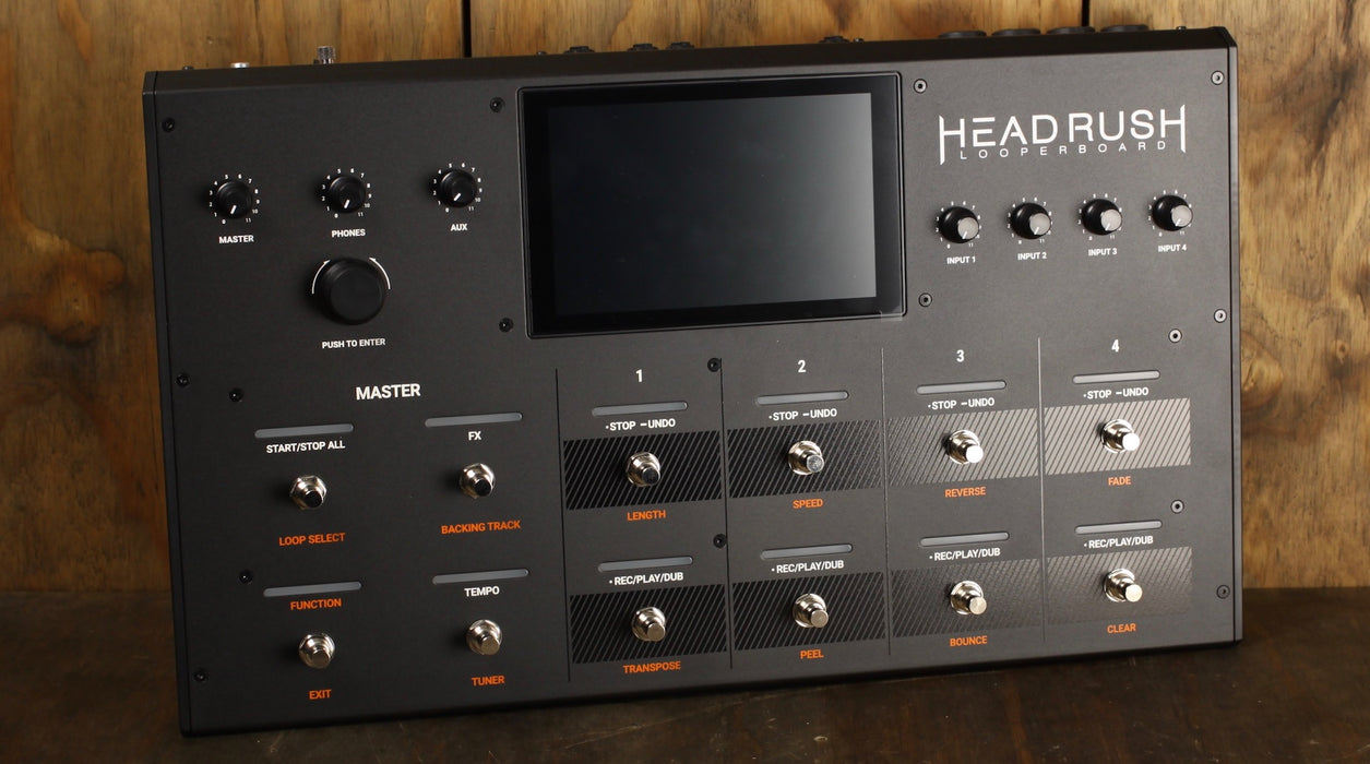 Headrush Looperboard 4-In/4-Out
