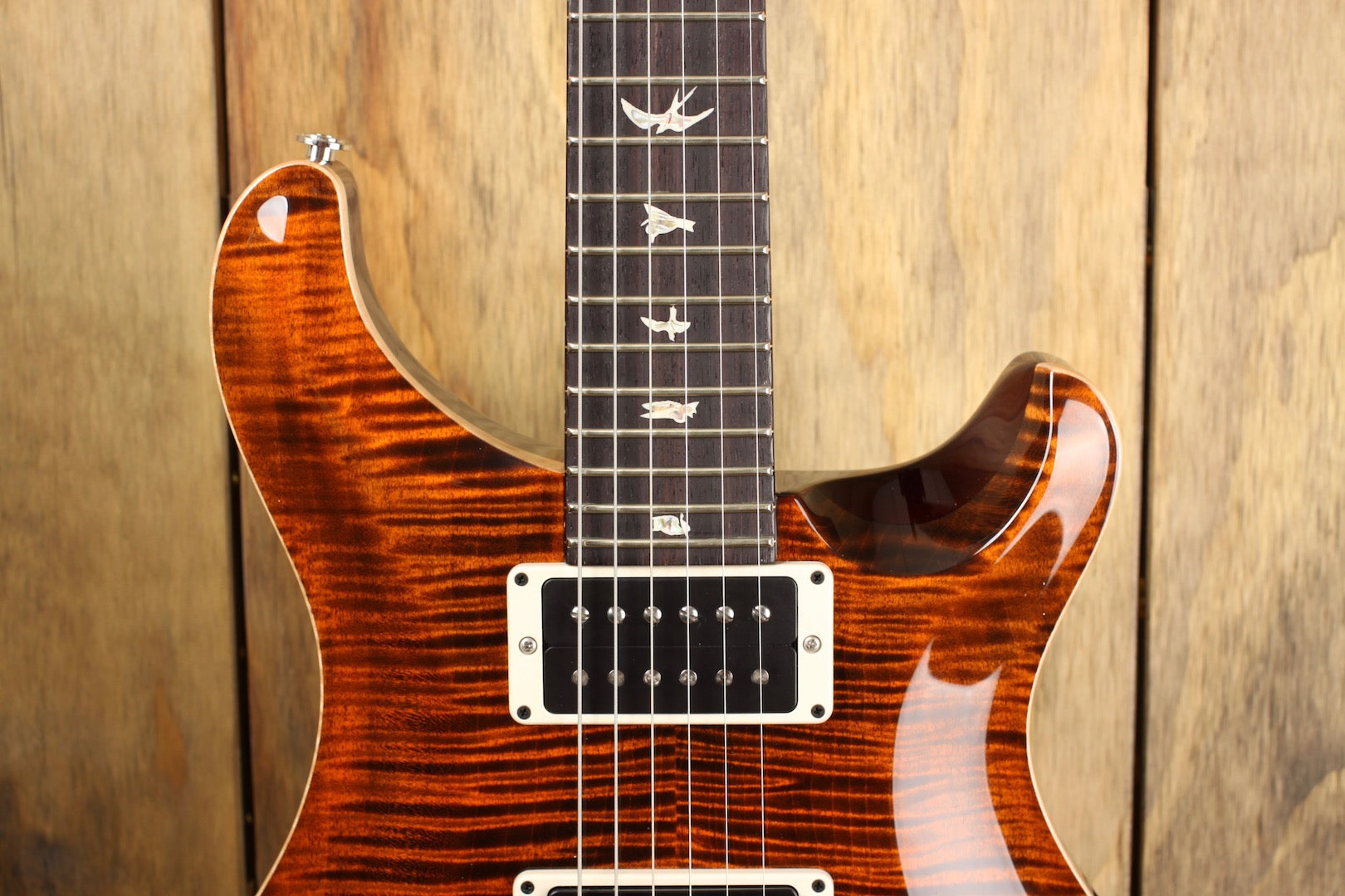 PRS Custom 24 Orange Tiger