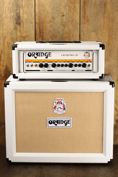 Orange White Crush Pro 120 50th Anniversary Limited Edition Set