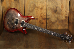 PRS Custom 24 Charcoal Cherry Burst