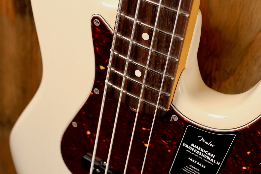 Fender American Professional II Jazz Bass Olympic White
