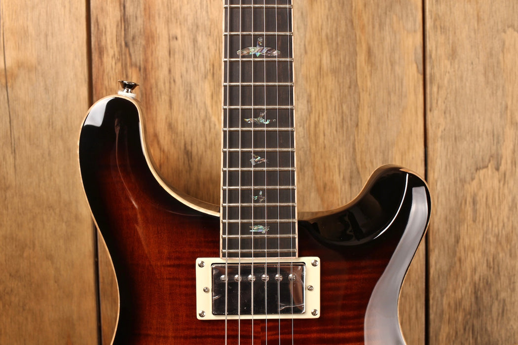 PRS SE Hollowbody II Piezo Black Gold Burst (with LR Baggs system)