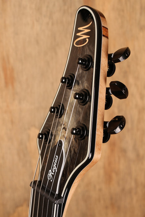 Mayones Regius 6 Buckeye Burl Naturel Fade Black Burst out
