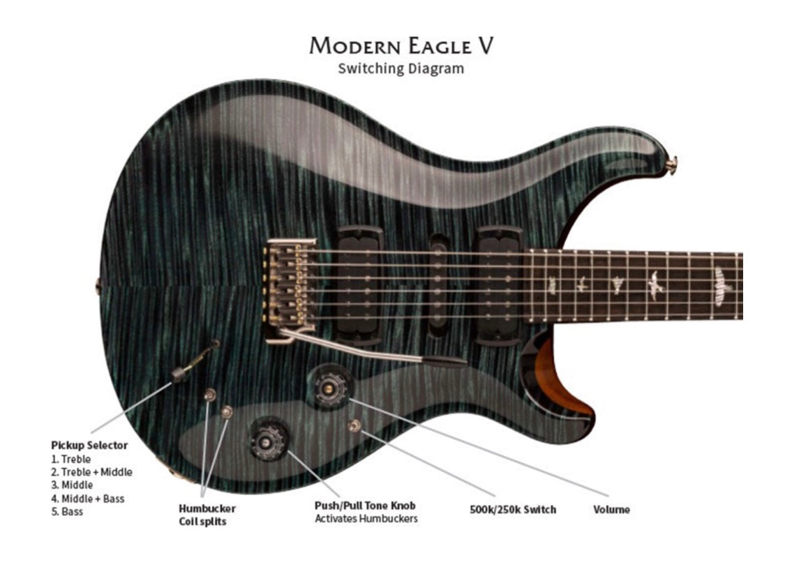 PRS Modern Eagle V Private Stock Dijkmans (Soon)