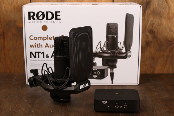 Rode NT1 & AI-1 Complete Studio Kit with Audio Interface
