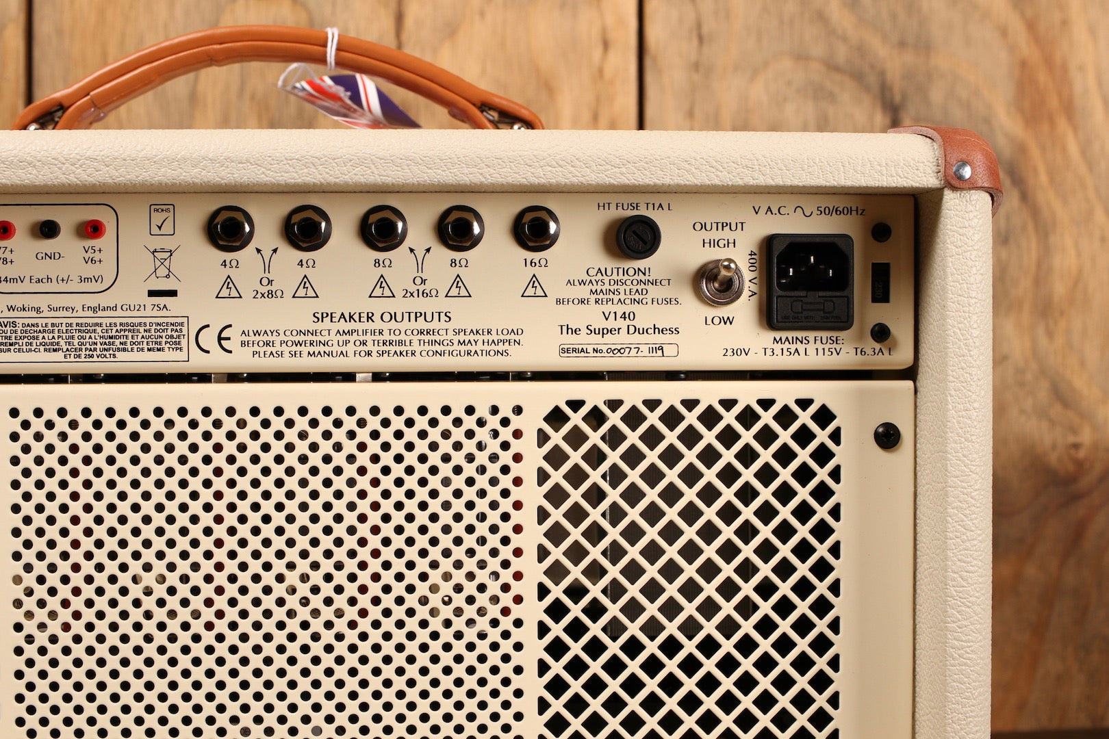 Victory Amps V140 The Super Duchess