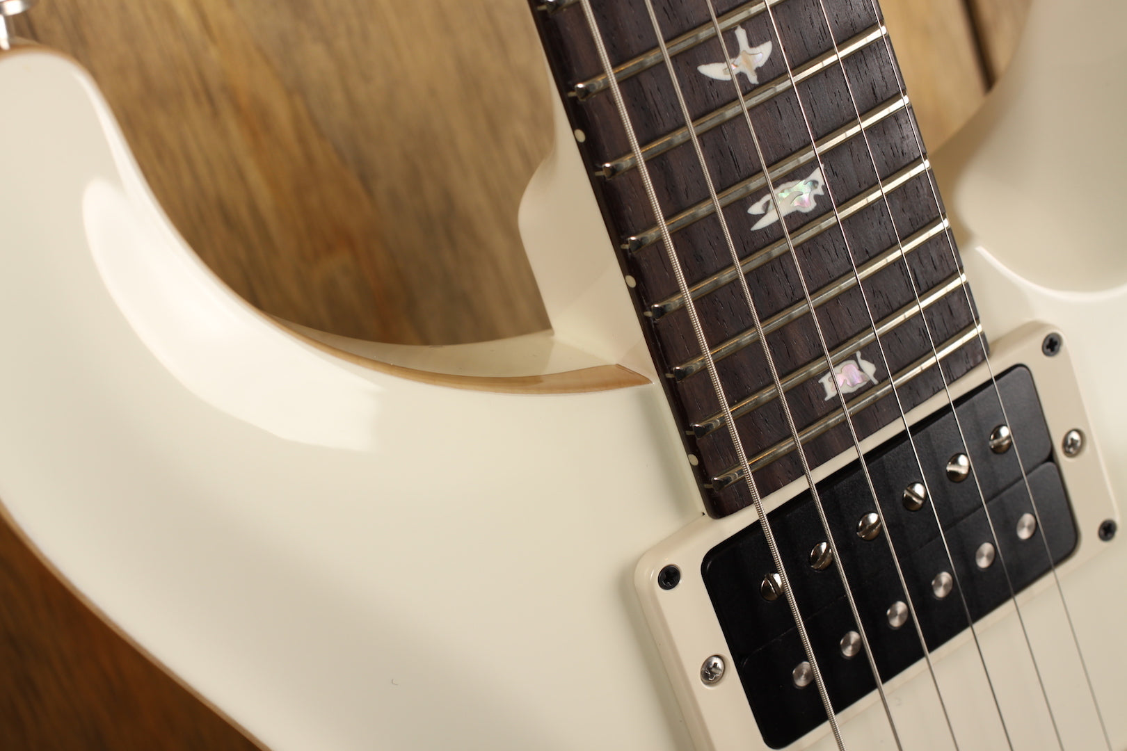 PRS Custom 24 Antique White Custom Color