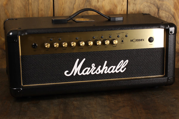 Marshall MG100HGFX 100Watt Head Gold