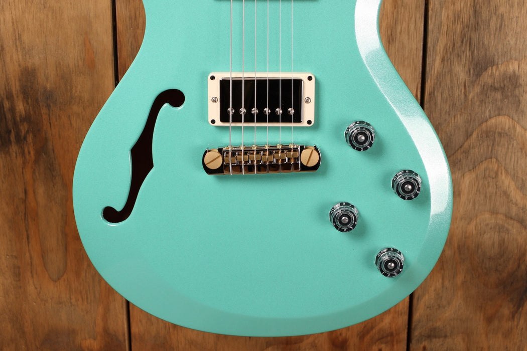 PRS S2 Singlecut Semi-Hollow Robin's Egg Blue