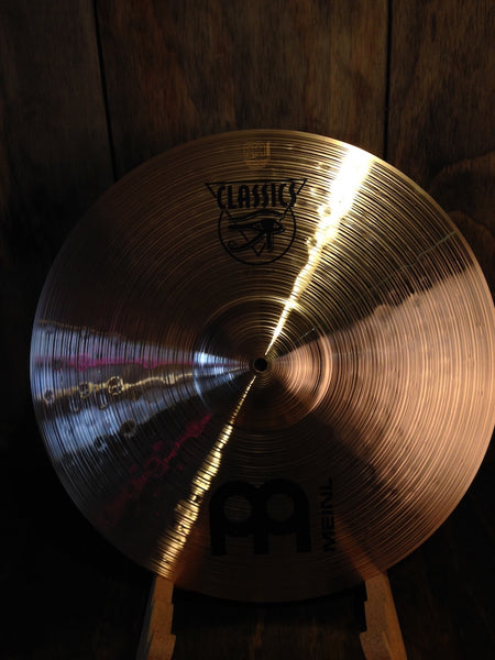 "Meinl Classics 18"" Traditional Thin Crash Drum Sale!"
