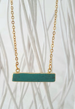 Lala blue howlite bar necklace - Uli Uli Jewelry