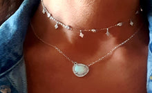 Opal crystal drop necklace - Uli Uli Jewelry