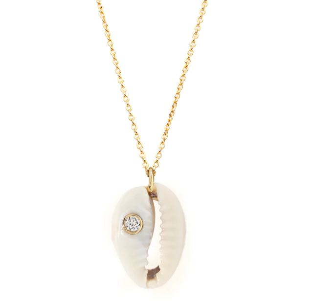Sunshine cowrie necklace