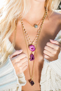 Set - 4 necklaces layered for 1 price as photo 1 on our homepage - Uli Uli Jewelry
