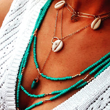 Beach rock necklace